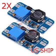 2 PCS MT3608 DC-DC ADJUSTABLE STEP-UP POWER CONVERTER MODULE FOR Arduino & More