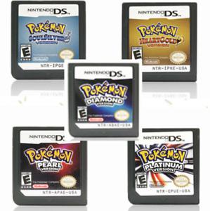 Pokemon Platinum Version Kids Gift Game Card For Nintendo 3DS NDSI NDS NDSL Lite