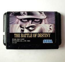 Rare BATTLE OF DESTINY ( FATAL FURY : KING OF FIGHTERS) for Sega Megadrive (JAP)