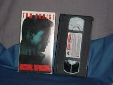 TOM CRUISE Mission Impossible VHS Paypal