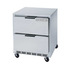 """Beverage Air Ucfd27Ahc-2 27"""" Undercounter Reach-In Freezer W/ Drawers"""