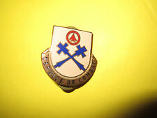 Vintage US 242nd Service & Supply Battalion Military Pin