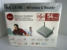 Belkin Wireless G Router F5D7230-4 54 Mbps 4-Port Cable DSL Router  I-12
