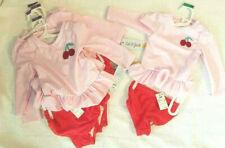 Toddler Girls' 2 pc Pink Cherry Long Sleeve Rash Guard Set - Cat & Jack™ NWT