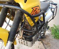 Honda NX650 Dominator RD08 Engine Radiator Guard Crash Bars Black Mmoto HON0181