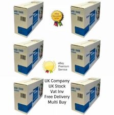6 x Black Toner Cartridge TN2010 Compatible For Brother DCP-7055 Printer