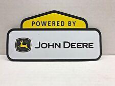 """JOHN DEERE POWER SIGN POSTER BANNER LABEL MAGNET 9"""" LONG"""