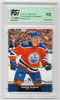 Connor McDavid 2015-16 Upper Deck Collection #CM-20 Rookie Card PGI 10 Oilers