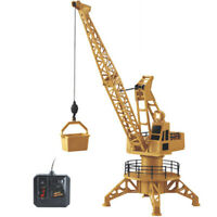 Rc Remote Control Simulation Crane Construction Toys Rc Crane Tower Rc Truc I2J8
