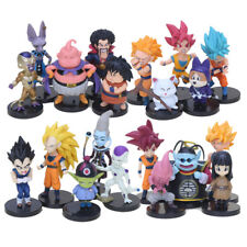 DRAGON BALL SUPER  20 STATUETTE PERSONAGGI action figure sayan goku blu rosa z x