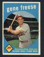 1959 Topps #472 Gene Freese EXMT/EXMT+ Phillies 57500