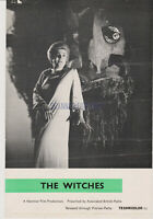 THE WITCHES (AKA THE DEVIL'S OWN) HAMMER HORROR BRITISH SCREENING SHEET 1966