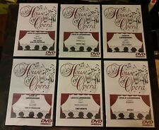 House of Opera HOO Lot 6 DVDs All Lucia di Lammermoor multiple productions
