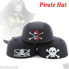 New Themed Ship Captain Party Cos Toy for Halloween Dress Magic Pirate Hat Caps