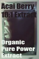 Acai Berry 10:1 Organic Extract Powder 100g - Amazon Super Antioxidant