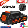 3.0Ah Battery For Black & Decker LBXR20 20Volt Lithium LBXR20-OPE LB20 LBXR2020