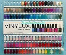 CND Vinylux Salon NAIL TIP COLOR CHART PALETTE 114 Display Colors NEW Limited Ed
