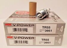 8 NGK SPARK PLUGS TR55 3951 V-POWER (FORD - CHEVROLET - CADILLAC - BUICK)