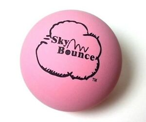 10 SKY BOUNCE PINK COLOR - HAND BALLS / RACKET BALL NEW
