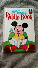 Walt Disney World of Books Mickey Mouse Riddle Book