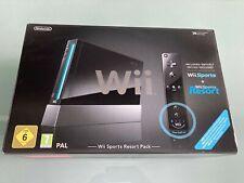 Nintendo Wii Sports Resort Pack Limited Edition negro consola de juegos