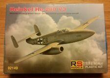 RS Models 1/72 Heinkel He-280 V3 German Proto-Jet kit