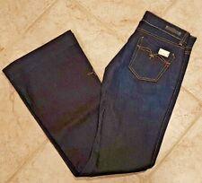 NWT Women's Size 28 x 34 Replay Jeans Jonee 70s Flare Dark Wash Denim W443