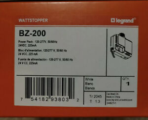 Legrand-WattStopper BZ-200 24V, 120/277V, Occupancy Sensor PlugPower Pack--NIB--