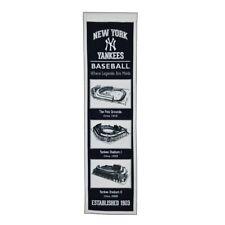 New York Yankees Stadium Transformation Banner Genuine Wool Blend