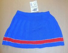 Nwt Body Wrappers Sweater Cheer Skirt girls 8-10C Size Medium RoyalBlue Red 0221