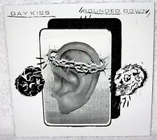"""GAY KISS Rounded Down 7"""" EP PUNK ROCK Hardcore BAD BREEDING The Lowest Form MP3S"""