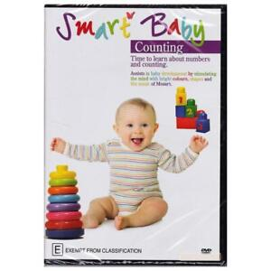 SMART BABY : COUNTING DVD (PAL) FREE POST