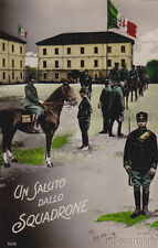 * MILITARE - Bromostampa Torino - Un Saluto dallo Squadrone