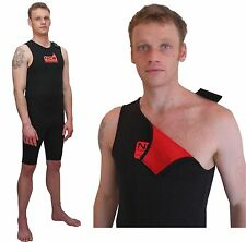 Short John wetsuit thermal lined 2mm (warm as 3mm). Wear alone / under wetsuit