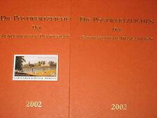 BRD GERMANY 2002 Jahrgang Postwertzeichen Complete Year Set incl. S/S MNH Folder