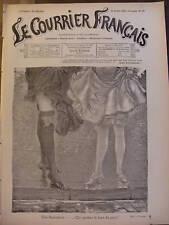 LE COURRIER FRANCAIS 1901 N 30  BAS BLANCS ET BAS NOIRS