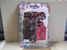 """The World of Teddy Ruxpin Grubby Hiking Outfit WOW 1987  """"Blister Cracked"""""""