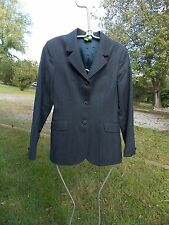 OVATION ENGLISH SHOW JACKET LADIES NAVY BLUE SLIGHT PIN 8R