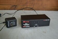 AVLink 2x1 DVI Switcher Amplified 2 Port MDV-21P DVI-D Digital Video #28