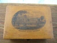 ANTIQUE MAUCHLINE WARE BOX C 1880-1900