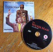 THE WICKER MAN The Guardian DVD Christopher Lee CARDBOARD SLEEVE