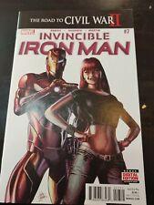 Invincible iron man 7 1st print, 1st app of Riri Williams