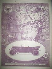 PUBLICITE DE PRESSE UNIC 10 HP AUTOMOBILE PUTEAUX ILLUSTRATION JOBBé DUVAL 1922