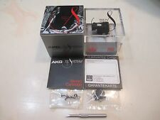 AKG P6E NOS CARTRIDGE & NOS GENUINE AKG X6E STYLUS + ACCESSORIES IN DISPLAY CASE
