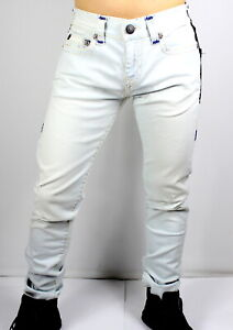 True Religion $329 Men's Rocco Relaxed Skinny Super T Jeans - MJ60NZX8 Sz 42, 44