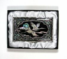 Traditional Korean Business Card holder, name card case - crone