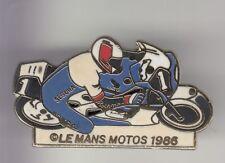 RARE PINS PIN'S ..  MOTO MOTORCYCLE TEAM 1986 HONDA SEGURA 24 H LE MANS 72~DS