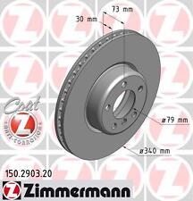 ZIMMERMANN 150.2903.20 FRONT  BRAKE DISCS PAIR (COAT Z)