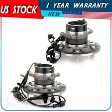 Pair 2 New Front Left & Right Wheel Hub Bearing Assembly For Chevy Gmc And Isuzu