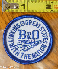 Patch #136 Linking 13 Great States with The Nation B&O ( Railroad Patch )